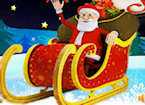 Play 3D Christmas Santa Racing game.