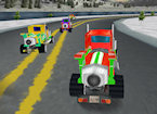 3D Jet Truck Racing game image