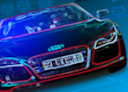 3D Neon Race game image