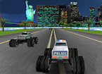 3D Police Monster Truck game image