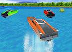 Play 3D Powerboat Racing game.