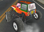 3D Urban Monster Truck Racing