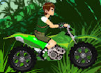Play Ben 10 Jungle Motobike game.