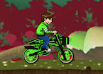 Play Ben 10 Space Bike game.