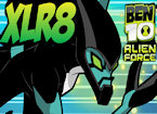 Play Ben 10 XLR8 super runner game.