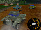 3D Army Tank Racing game image