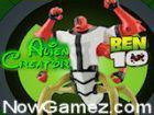 Play Ben 10 Alien Creator game.
