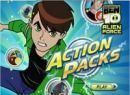 Play Ben 10 Alien force Action Packs game.