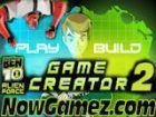 Play Ben 10 Alien Force Game Creator 2 game.