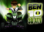 Play Ben 10 atv 3D game.