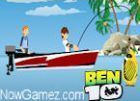 Play Ben 10 Fishing Pro game.