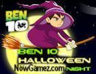 Play Ben 10 Halloween Night game.