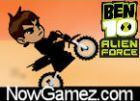 Play Ben 10 Hard Bike game.