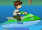 Play Ben 10 Jetski game.