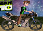 Ben 10 Moon Biker game image