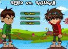 Play Ben 10 VS Bakugan game.