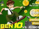 Play Ben 10 VS Robots game.