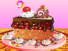 Play Chocolate Cake Decoration game.