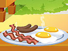 Play Cooking Breakfast in Nature game.
