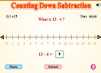 Counting Down Subtraction