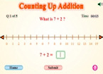 Counting Up Addition
