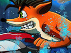 Crash Bandicoot Waterski game image