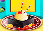 Play Delicious Icecream With Brownies game.