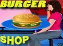 Play Lora Burger Shop game.