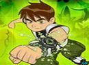 Play Ben 10 magic puzzle game.