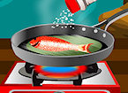 Play Grilled Fish With Lemon game.