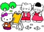 Hello Kitty Painting