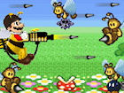 Play Mario Bee Defense game.