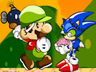 Play Mario Zombie Bomber game.