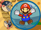 Play Mario Bubble Escape game.