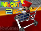 Mario Cart 2 game image