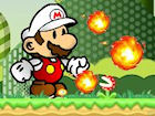 Play Mario Fire Bounce game.