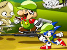 Play Mario Sonic Zombie Killer game.