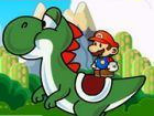 Play Mario & Yoshi Adventure game.