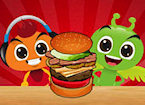 Play Monster Burger game.