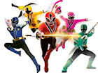 Power Rangers Fight Training game image