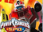 Play Power Rangers Megazord Firestorm game.