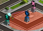 Play Power Rangers Samurai Defense game.
