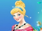 Princess Cinderella Facial Makeover