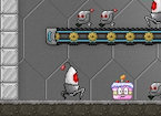 Robot Cake Defender game image