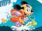 Sort My Tiles Surfing Mickey