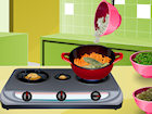Play Spaghetti and Meatballs game.