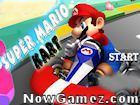 Play Super Mario Kart game.