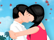 romantic kissing image